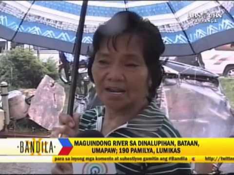 Floodwaters still rising in Dinalupihan, Bataan