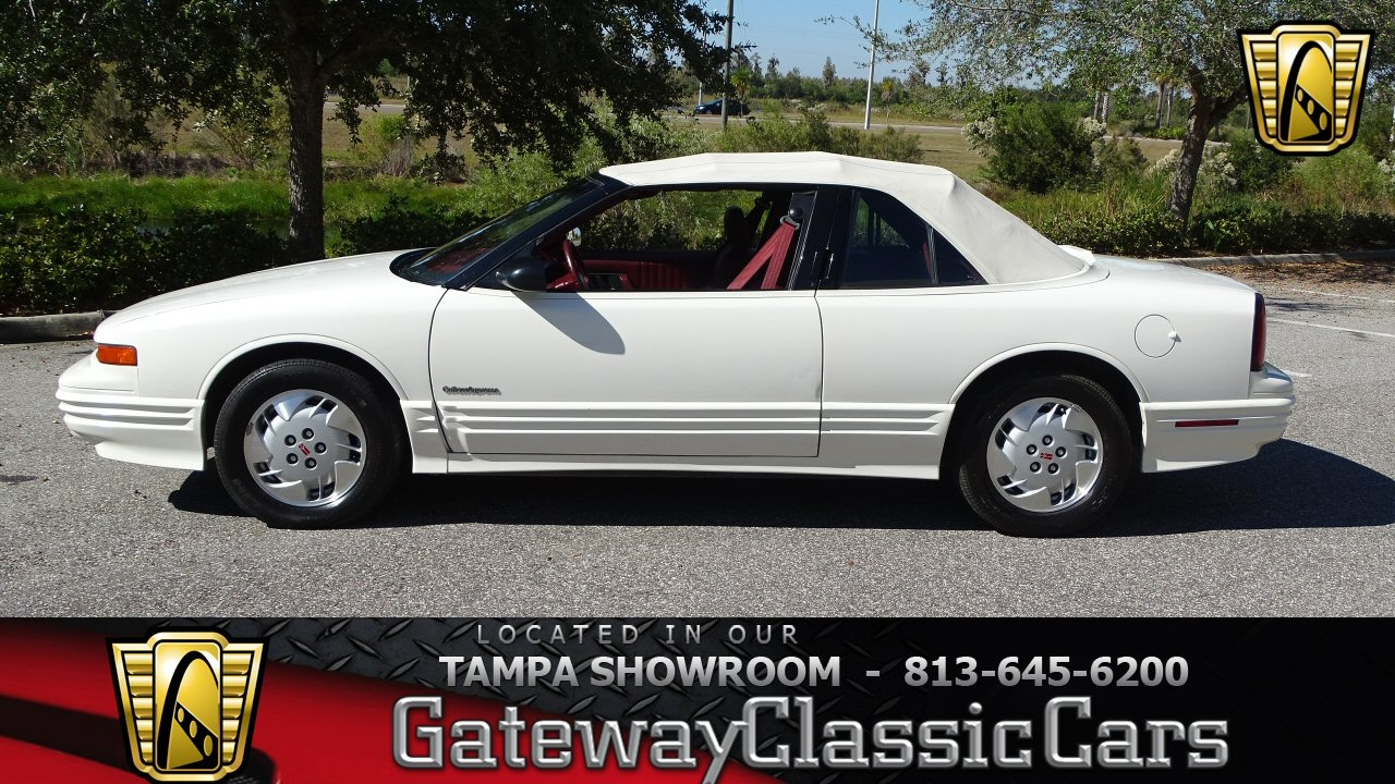 754 TPA 1992 Oldsmobile Cutlass Supreme 31L V6 FI 4 Speed Automatic With Overdrive