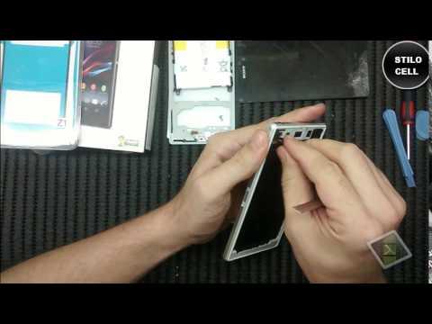 Como desmontar e montar xperia Z1 com Tutorial vedação