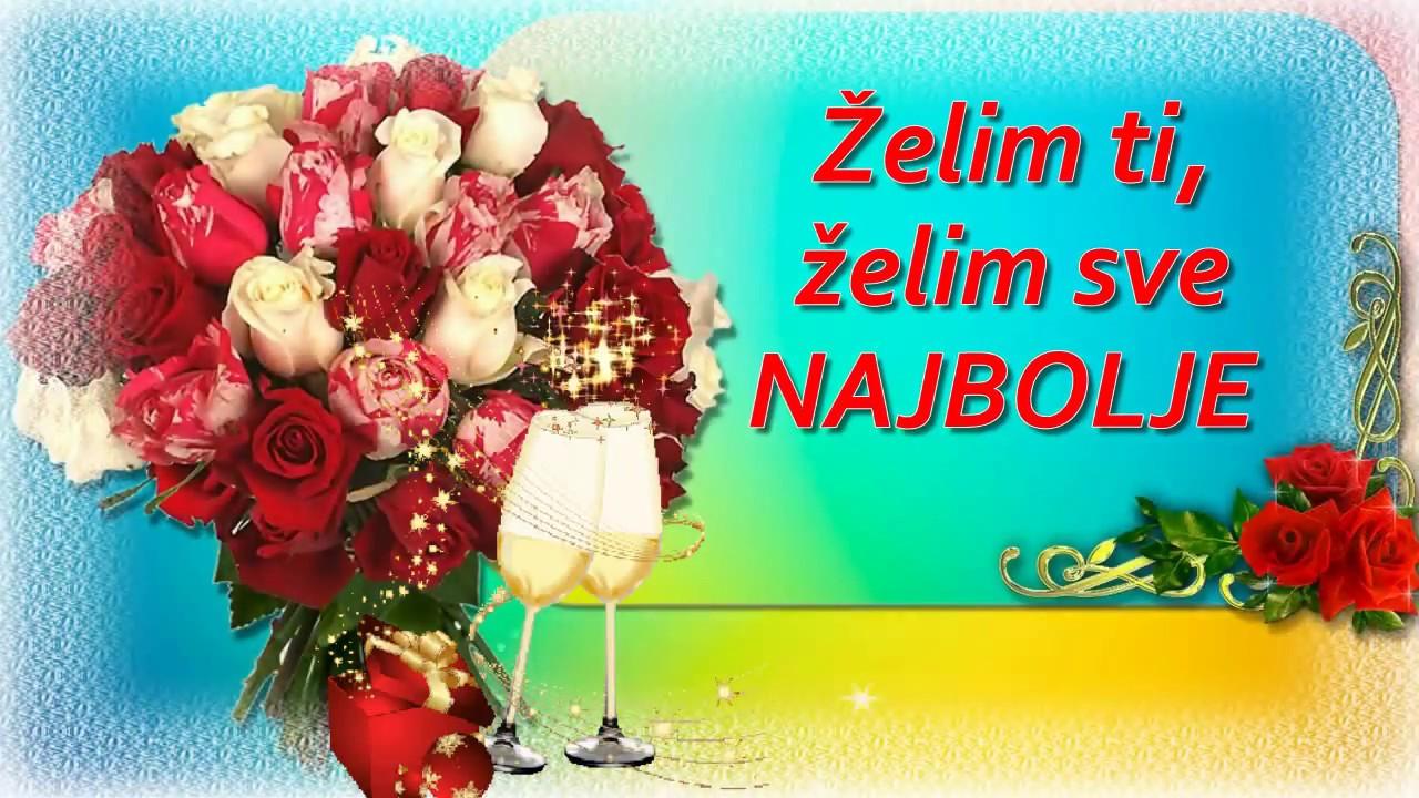 sretan rođendan i sve najbolje Želim ti sve najbolje ♥   Sretan rođendan   YouTube sretan rođendan i sve najbolje