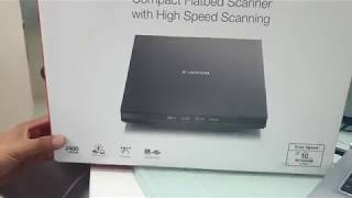 Unboxing Canon Scanner CanoScan Lide 300 Hindi/Urdu