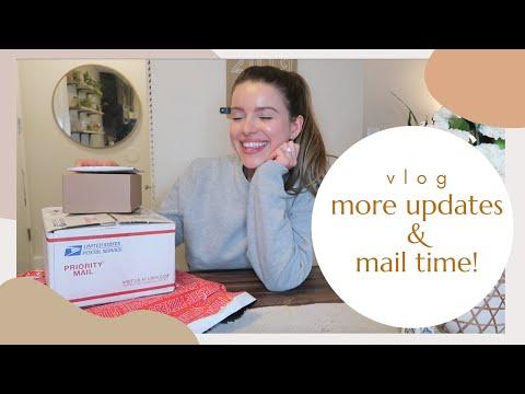 MORE Life Updates, Massive Mail Time & GNO   VLOG