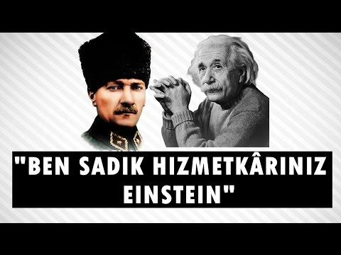 ALBERT EINSTEIN'IN TÜRKİYE'YE MEKTUBU VE ATATÜRK SEVGİSİ