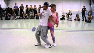 Dadinho & Linda Urgosova Brazilian Zouk Dance Demo 2, London UK, March 2015