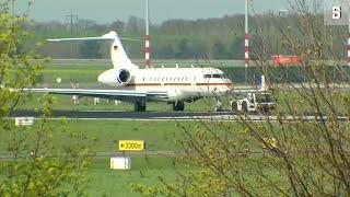 Regierungsflieger: Funktionsstörung und Probleme bei Landung