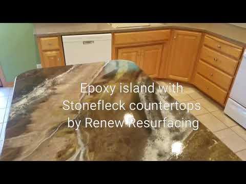 Epoxy countertops by Renew Resurfacing
