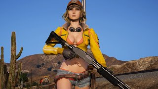GTA 5 Final Fantasy Announce Trailer Cinematic 4K HDR 60FPS (GTA Redux + NaturalVision)