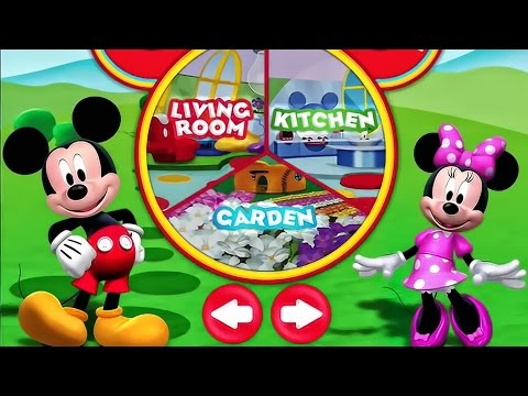 Minnie Mouse Color And Play Clup House Paint 3D
