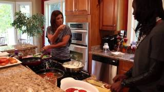 Jen Heasley's Cooking With The Pros With Essence Carson