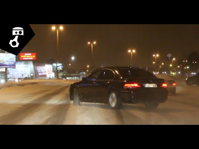 BMW 730d (E65) Тест-драйв; zhmuraTV