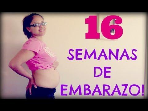16 semanas de embarazo a cuantos meses equivale