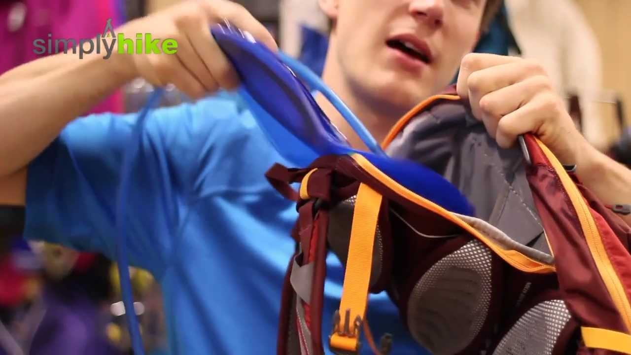 5d8ce2684dd How to Fit a Camelbak Hydration Reservoir - Micro Advice Video Series -  www.simplyhike.co.uk