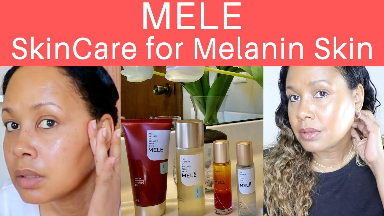 Mele skincare review