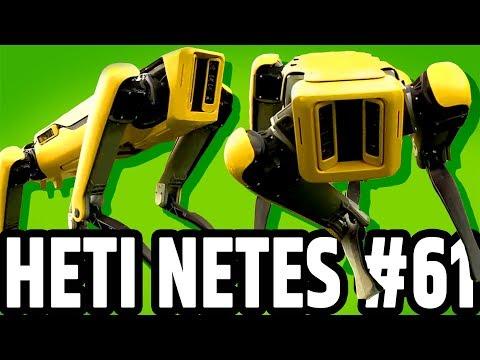 🗓️ Heti Netes #61 | Robot rémület | Rulett csalás | Nigériai chatrobot