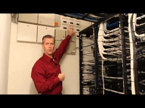See A Meticulous Residential Equipment Rack, Wiring Termination & Distribution, Security & HVAC