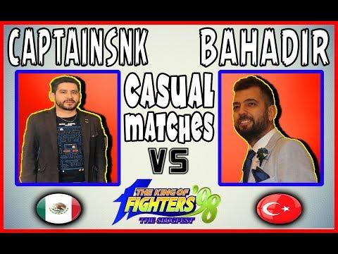 KOF 98 ★ CapitanSNK (Mexico) Vs (Tr)bahadir (Turkey) 👊🔥😈 Casual Matches 👊🔥😈 21-04-2019 🎥 60 FPS 🎥