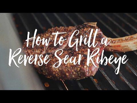 Reverse Sear Steak On A Pellet Grill