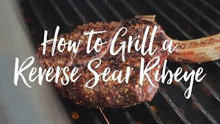 Reverse Sear Steak on a Pellet Grill