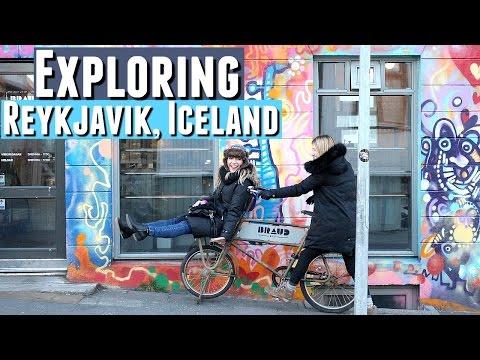 EXPLORING REYKJAVIK ICELAND, Travelling Iceland Vlogs Day 7