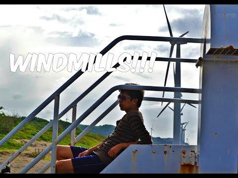 Huge Fans!: Bangui Windmills, Ilocos Norte (Watch in HD)