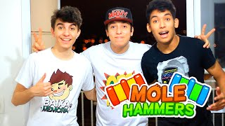 DESAFIO DA PIMENTA REFRESCANTE !! - Mole Hammers