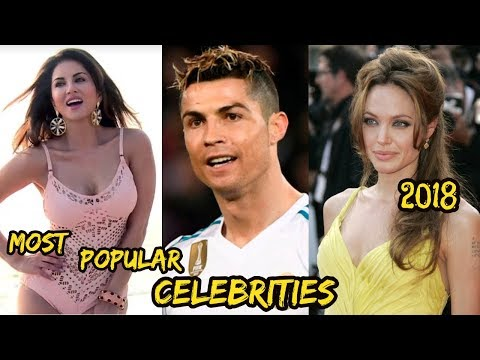 Top 10 Most Famous Persons & Celebrities In The World 2018