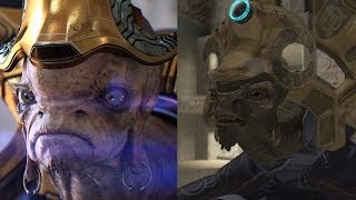 Halo 2 Graphics Comparison - Anniversary vs. Original (XBOX ONE)