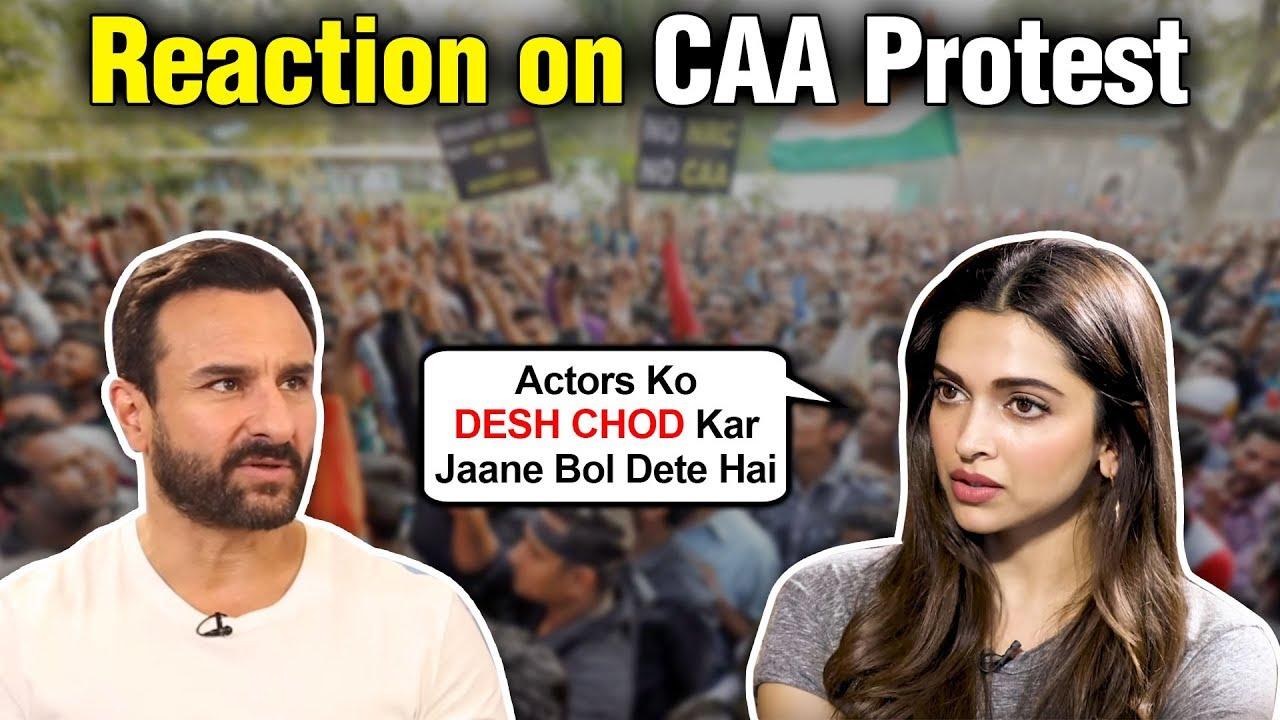 Deepika Padukone And Saif Ali Khan ANGRY REACTION On ...