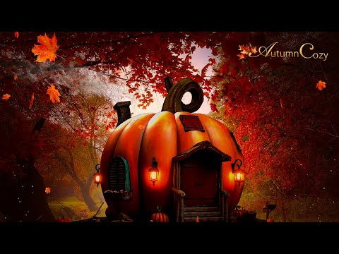 Pumpkin House Fall Ambience With Crackling and Crunching Sounds for Studying, Sleep and Relaxation