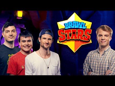 BRAWL STARS! Full YouTuber Tournament