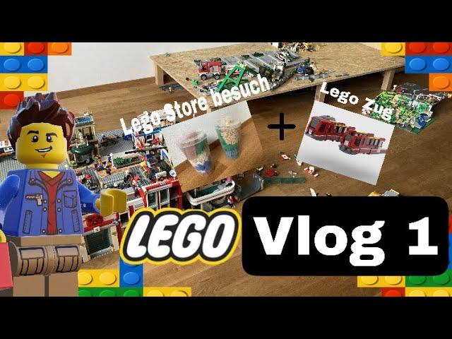 Lego Vlog 1/ Der Zug und Abbau der Lego Stadt