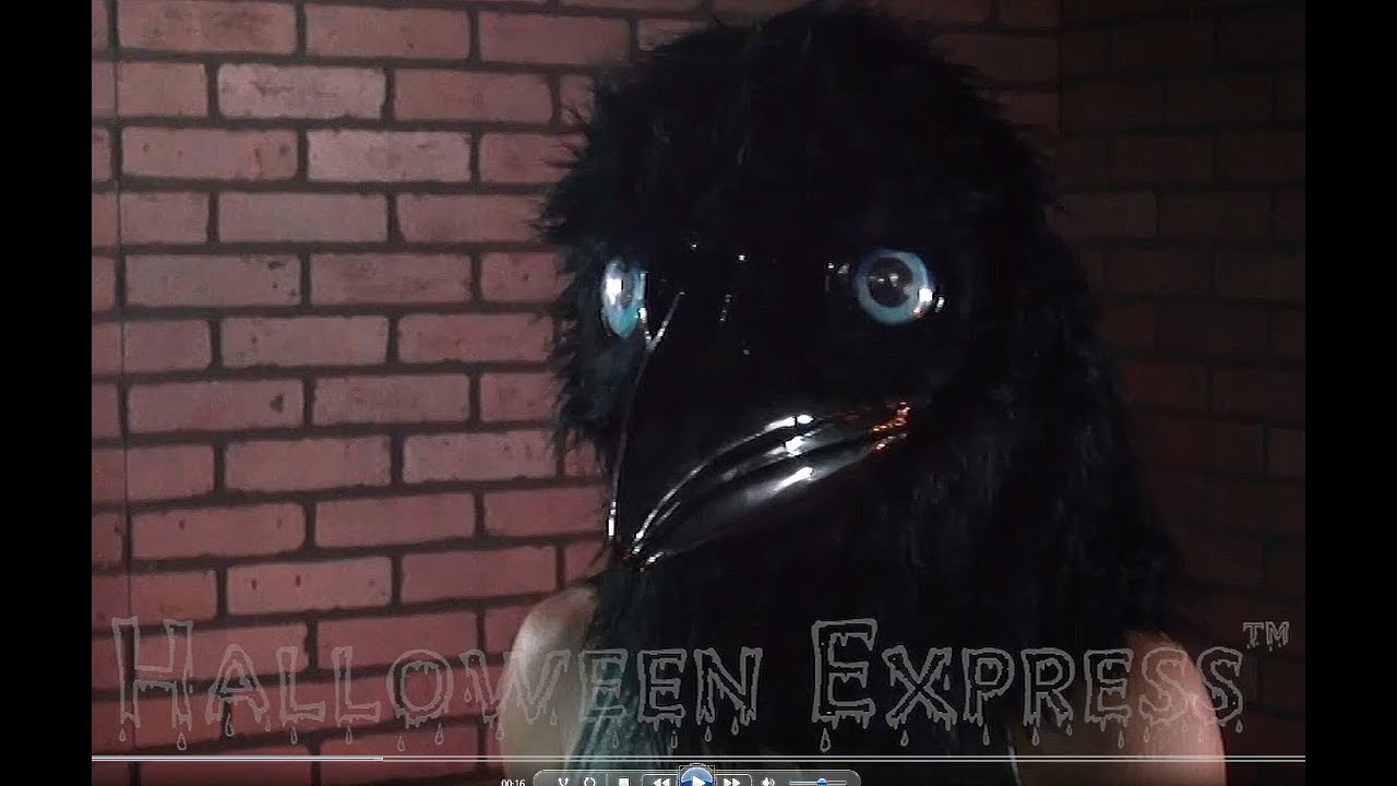 Animated Raven Mask Youtube