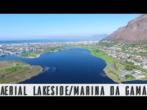 Lakeside and Marina Da Gama,Cape Town, An Aerial View