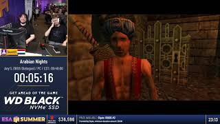#ESASummer18 Speedruns - Arabian Nights [Any% (With Dialogue)] by Goost91