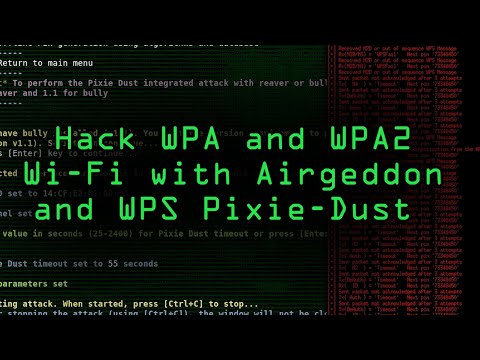 How To: Hack WPA & WPA2 Wi-Fi Passwords with a Pixie-Dust Attack Using Airgeddon