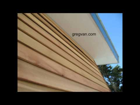 Wood Siding And Brad Nailing Tips - House Construction