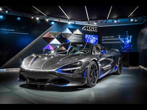 The McLaren 720S Spider by MSO - Live from the 2019 Geneva Motor Show