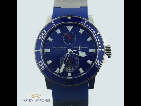 Ulysse Nardin Marine Diver Arabic review with Money Watches