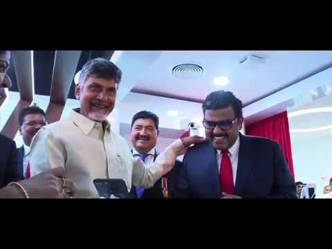 Andhra Pradesh CM N. Chandrababu Naidu visits UAE Exchange GHQ in Abu Dhabi, UAE.