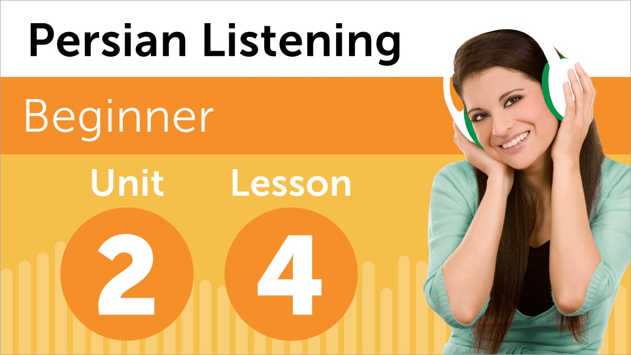 Persian Listening Practice - Talking About Your Schedule ...
