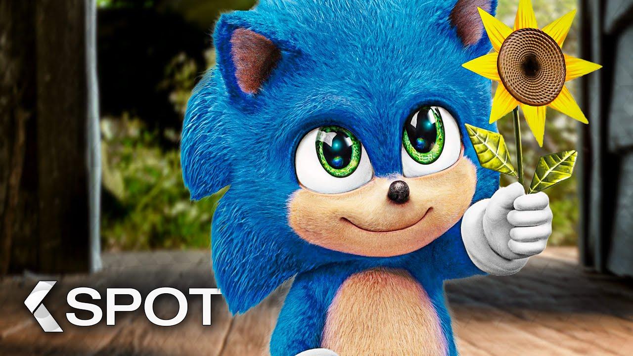 Baby Sonic - SONIC: The Hedgehog Clip & Trailer German Deutsch (2020) Exklusiv
