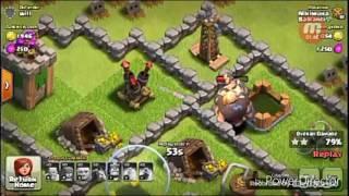 Napadi i odbrane(sa novom bazom) Clash of clans