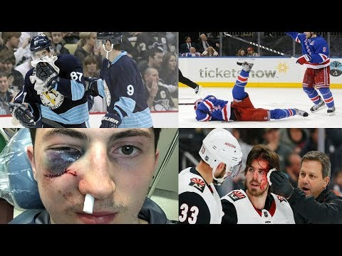NHL: Pucks to the Face