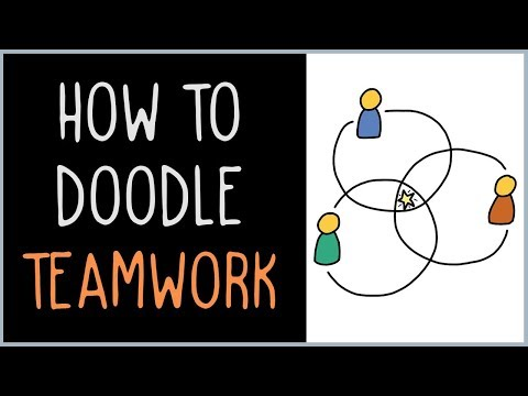 How to Draw Teamwork (drawing tips)