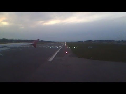 Air Berlin Takeoff at Hamburg Airport on Board recorded whit IPod Nano 5