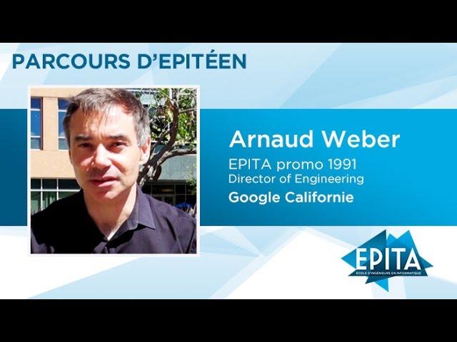 Parcours d'Epitéens - Arnaud Weber (promo 1991) - Google