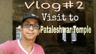 Lifestyle Vlog#2 Visit to Pataleshwar temple Pune | Temple carved out of stone ? TC vlogs