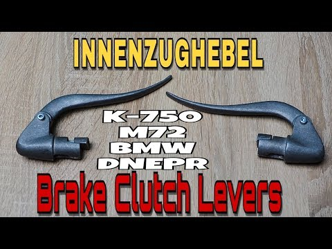 Brake Clutch Levers M-72 KMZ IMZ Ural Dnepr K-750 BMW Custom INNENZUGHEBEL