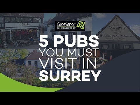 Top 5 Surrey Pubs You Must Visit In Surrey   Grosvenor Billinghurst