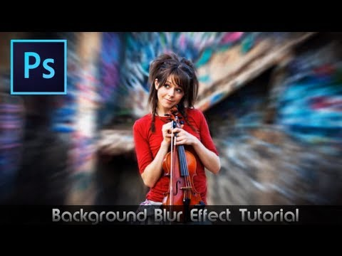 Photoshop CS6 Tutorial • Awesome Blur Effect - YouTube